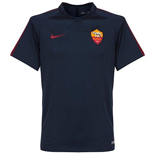 Nike ROMA M NK DRY TOP SS SQD - Maglietta, Nero, L, Uomo