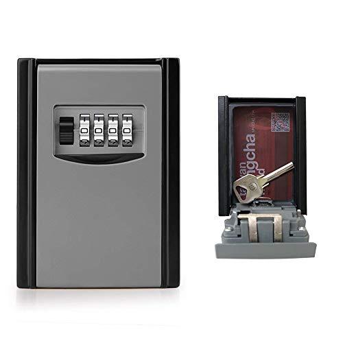 GogoTool Caja fuerte para llaves, Caja de seguridad Combinación de 4