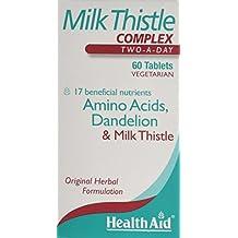 HealthAid Milk Thistle Complex 60 Tablets Vegetarian