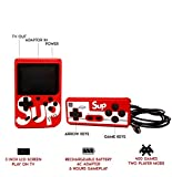 Jicson J72 Retro Hand Game Console with Controller 400 in 1 olourful LCD