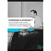 Carnet de Musique Notebooks & Journals, Feld (Jazz Notes Collection) Extra Large: Couverture souple (17.78 x 25.4 cm)(Carnet à musique, Cahier de musique)