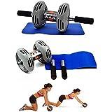 [Sponsored]Tryviz Powerstretch AB Wheel Roller Exercise Fitness Slim Body Roller Power Stretch