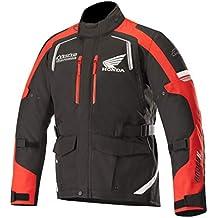Alpinestars Honda Andes v2 Drystar - Chaqueta de motorista (talla XXL), color negro
