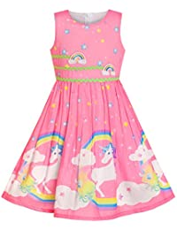 fdc874388 Girls Dress Purple Rose Flower Double Bow Tie Party Kids Sundress Size 4-12  Years