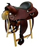 Westernsattel ATLANTA aus Büffelleder hoher Qualität Reining Sattel Neu