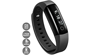 Lifesense Band 2 Fitness Band With Heart Rate Monitor And Call Alert For Android/iOS Devices (Black)