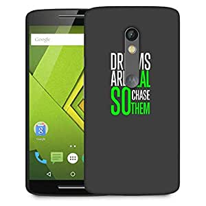Snoogg Chase them Designer Protective Back Case Cover For Motorola Moto G3
