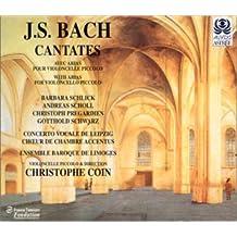 Cantates avec aria pour violoncelle piccolo
