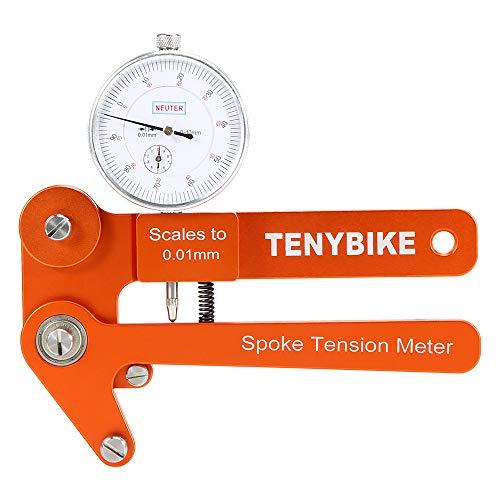 Festnight Medidor tensión radios Bicicleta Tensiómetro