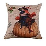 SEWORLD Halloween Kissenbezug Sofa Taille Wurf Kissenbezug Home Decor B