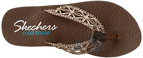 Skechers Cali Meditation-Ocean Breeze Flip Flop brown