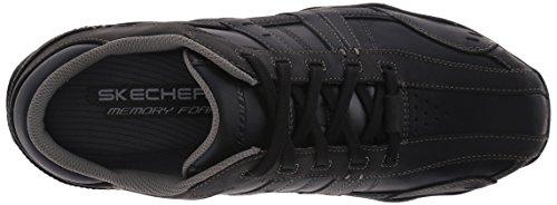 Skechers DiameterVassell Herren Sneakers Schwarz (Bbk)