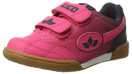 Lico Mädchen Bernie V Handballschuhe, Pink (Pink/Marine), 31 EU