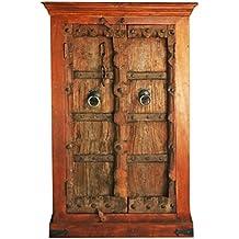 Orientalischer Kleiner Schrank Kleiderschrank Antik 3 129cm Hoch