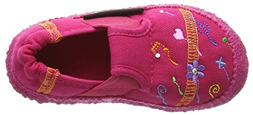 Nanga Löwenzahn, Chaussons courts, non doublées fille Rose - Pink (27)