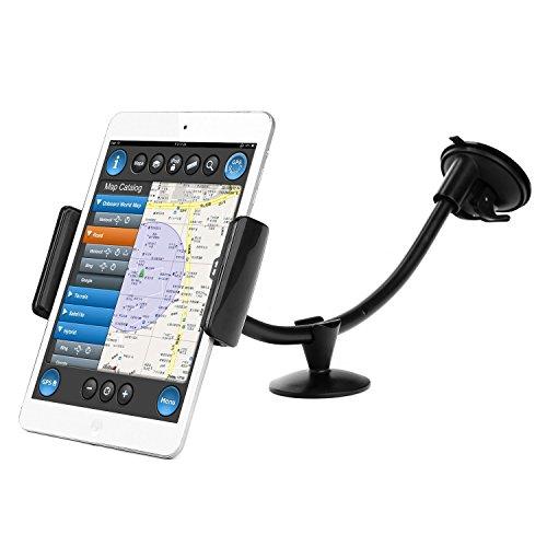 Tablet KFZ-Halterung, Danibos Universal Tablet Auto Kopfstütze Halterung für iPad Mini 1/2/3/4, Samsung Galaxy Tab, Tab Pro, Tab3 7.0, Tab4 7.0, Tab lite7.0, Google Nexus, Sony Xperia, Samsung Galaxy S6/ S5/ S4/S3 Note 4/3