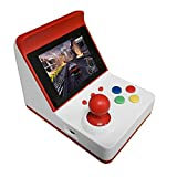 "Docooler Retro Miniature Arcade Game Console Portable Handheld Game Machine 3"" Screen Dual Wired Joysticks 360 Classic Games Present Gift for Kids Support AV Out"