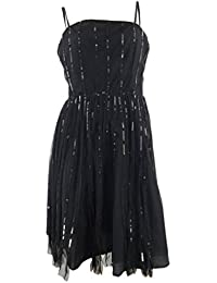 Ex NEXT 1920s Flapper Style Sequinned Square Neck Dress. RRP: £50. Sizes 10-16.