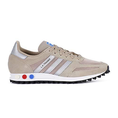 hot sale online 54c96 4cdfb adidas La Trainer, Scarpe da Fitness Uomo, Multicolore (Trakha Msilve Cblack