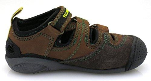 Yellow Cab Sandales trekking sandales Sandales en cuir Chaussures pour les gars Y303 Marron