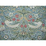 William Morris Golden Lily Curtain Fabric Sold Per Mtr