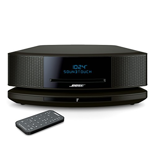 Bose Wave SoundTouch Music System IV - Espresso Black works with Alexa