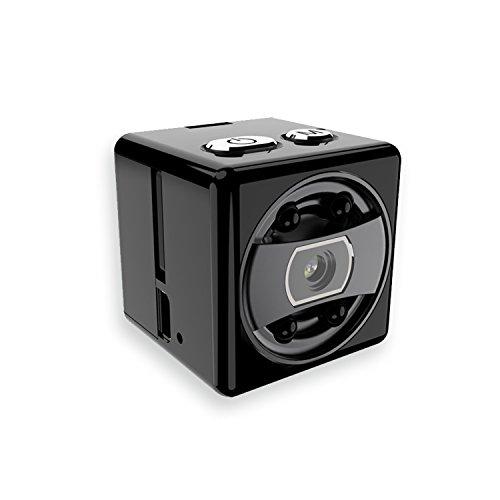 Skaize Spionage Mini Kamera HD Videokamera (Nachtsicht, Bewegungserkennung, 720P/1080P, Bildmodus, Mikro, Kabellos, Akku)