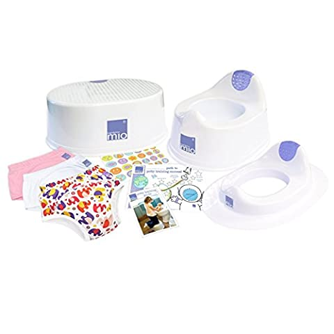 Bambino Mio Potty Training Bundle for Girls (Suitable for Ages 2-3 years)