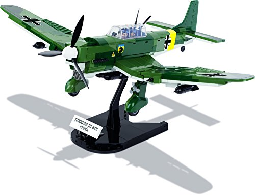 Modbrix 5521- ✠ Bausteine STUKA Flugzeug Junkers Ju 87 B inkl. Luftwaffen Pilot aus original Lego® Teilen ✠ - 3