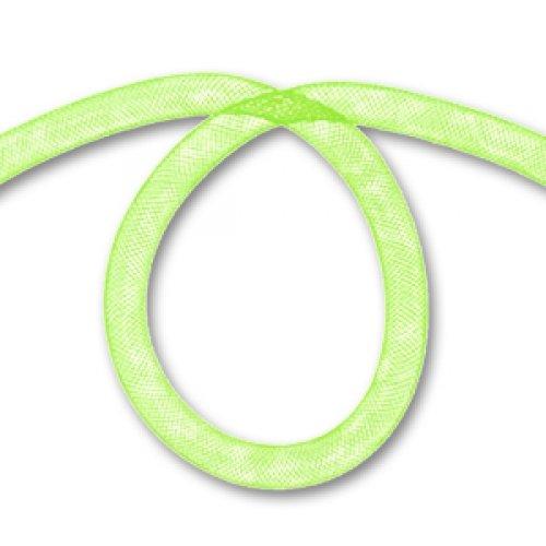 Malla tubular 8 mm Verde Anis x2 m