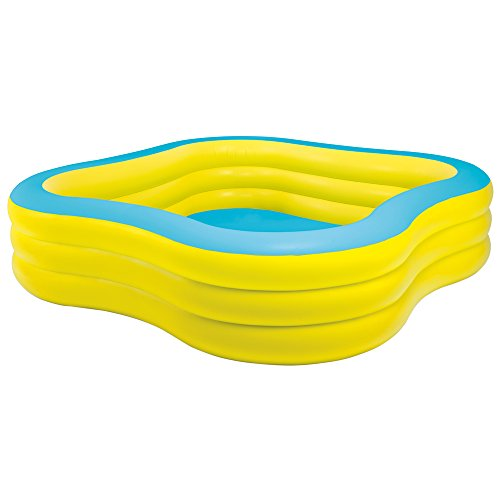 Intex 57495NP - Aufblasbarer Familienpool Swim Center, 90 x 90 x 22 Zoll