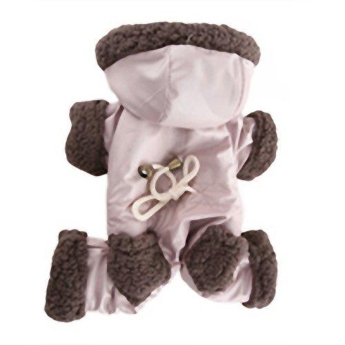 Männliche Anzug (Puppy Angel Winter Bunny Vier-Pfoten-Anzug Spezial männlich Beige)