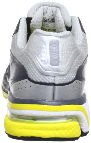 adidas Supernova Glide 5 Q23720 Damen Laufschuhe Schwarz (Black 1 / Neo Iron Met. F11 / Vivid Yellow S13)