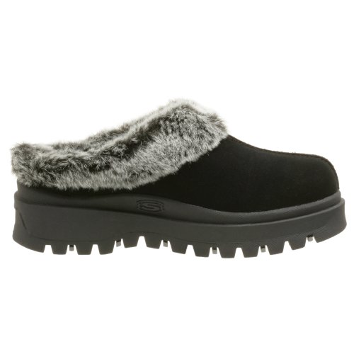 Skechers Fortezza Clog Slipper Black