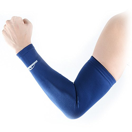 COOLOMG Arm Sleeve Kompression Ärmling Running Basketball Volleyball Anti-rutsch Sonnenschutz 1 Stück