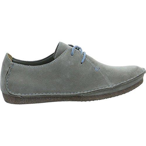 Clarks Damen Janey Mae Schuhe Grau