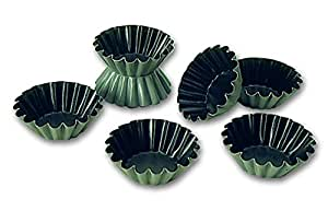 Blister de 25 brioches à côtes fines Exopan professionnels à 65 mm de diamétre
