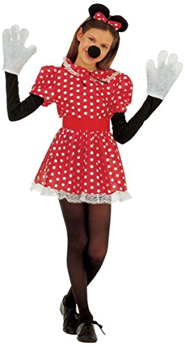 Sancto - Disfraz de ratón para mujer, talla 5 - 7 años...