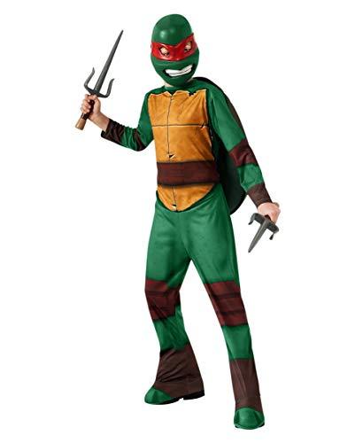 Kostüm Baby Raphael - Horror-Shop Raphael Kinderkostüm TMNT für Fasching, Karneval & Kindergeburtstag M