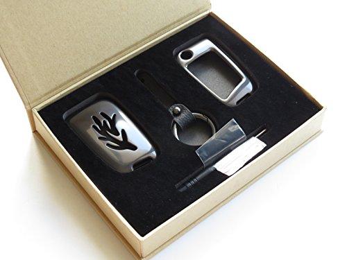 Pinalloy Metall-Legierung von Smart Key Cover Case Hülle Schale Fob für Golf 7, MK7