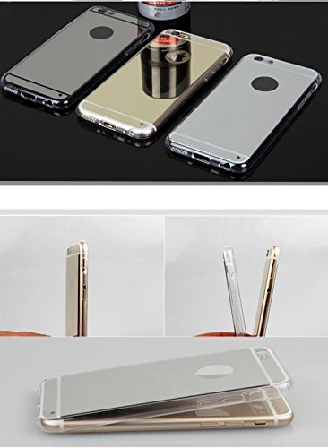 CORST Case Cover TPU Specchio, Custodia protettiva per iPhone 6Plus/6S Plus 5.5 inch(Argento)