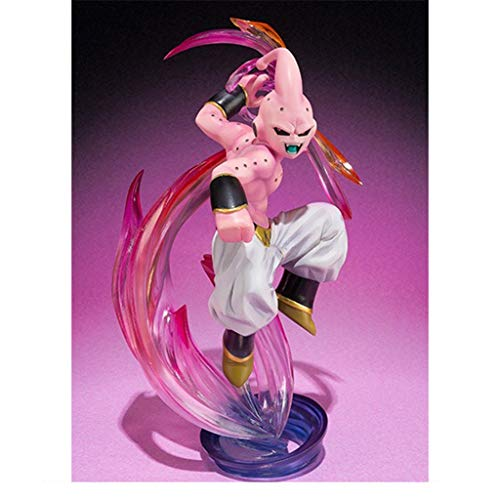LLKOZZ Dragon Ball Estatua/Calificación de Alma Zero Cloth Extreme Evil Final Shape Modelo Buu Decoración -15cm Juguete