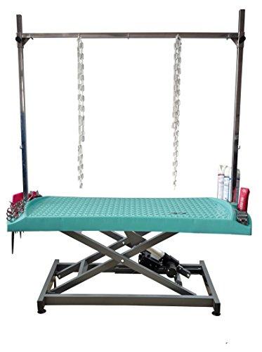 Tisch evolutech Aufnahme 1302er Elektrische türkis–Chassis Metall–komplett mit Vorbau und Ketten - Wohnzimmer Metall Klapptisch