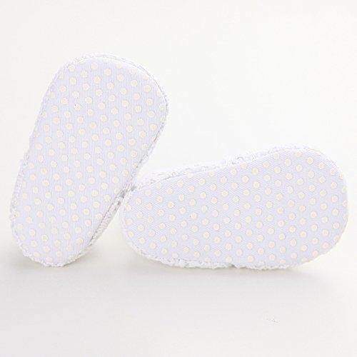 Leap Frog  Knit Sneaker, Baby Mädchen Lauflernschuhe Weiß