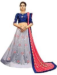 1609b838b8 KMOZI Women's Lehenga Cholis Online: Buy KMOZI Women's Lehenga ...