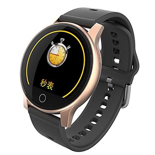 WTYCHS Aktivitätstracker Smart Watch EKG + PPG Bluetooth Armband Aktivitätstracker Männer Frauen Smart Watch, Gold