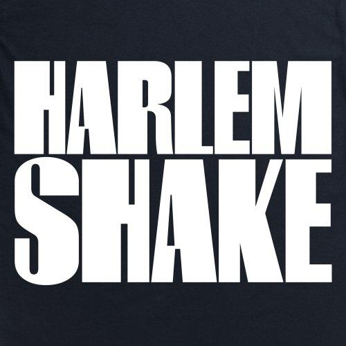 Harlem Shake Text T-Shirt, Herren Schwarz