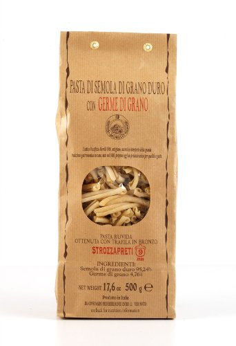 Strozzapreti with Wheat Germ 500g (Pack of 5)