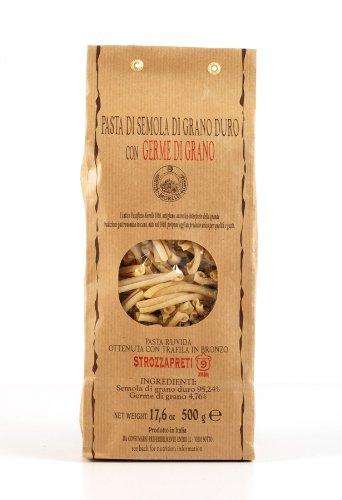 Strozzapreti with Wheat Germ 500g (Pack of 5)