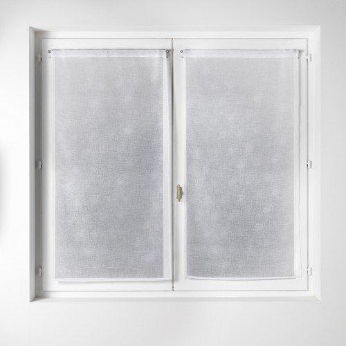 home-maison-813196-paire-de-vitrage-etamine-imprime-petits-pois-polyester-blanc-argent-60-x-160-cm